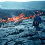 aa flow, Kilauea, Hawaii 1999