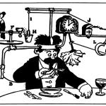 Rube Goldberg - Self Operating Napkin