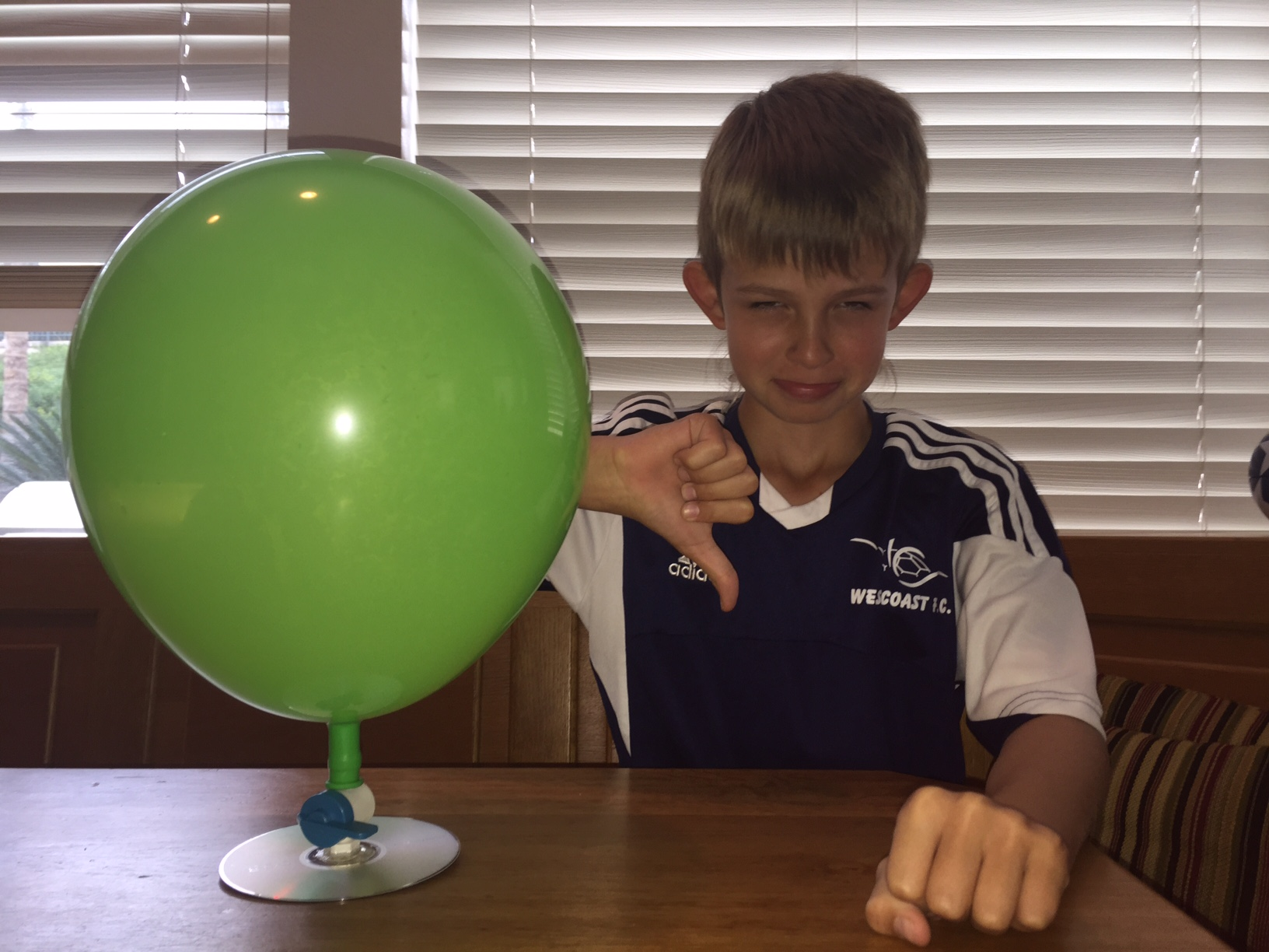 Science Fair Projects For 5th Graders With Balloons