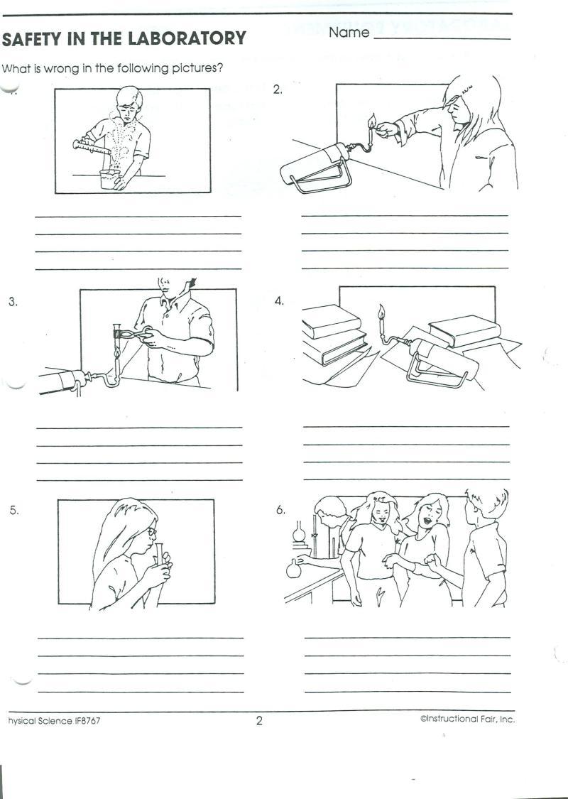 Worksheets Lab Safety Rules Worksheet lab safety cartoon worksheet simplepict com printables worksheets gozoneguide thousands of