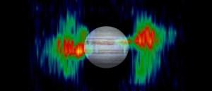Jupiter radio waves