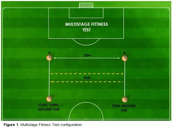 Figure 1 - Multistage Fitness Test (Beep)