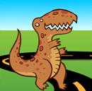 Why did the dinosaur cross the road? joke
