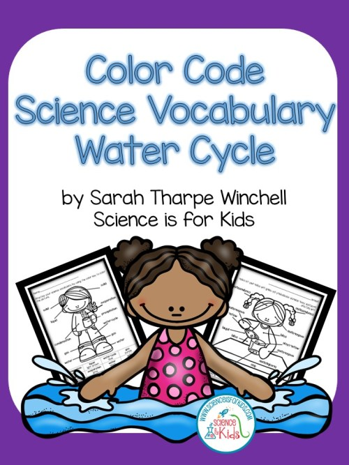 water cycle science vocabulary