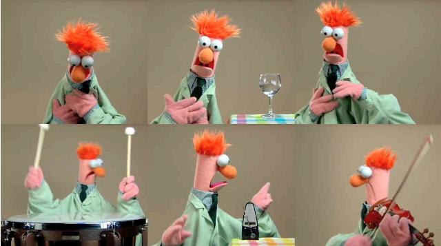 ode to joy muppets