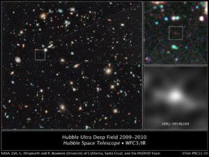 Galaxia mas distante
