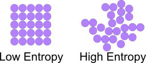 Entropy and disorderliness