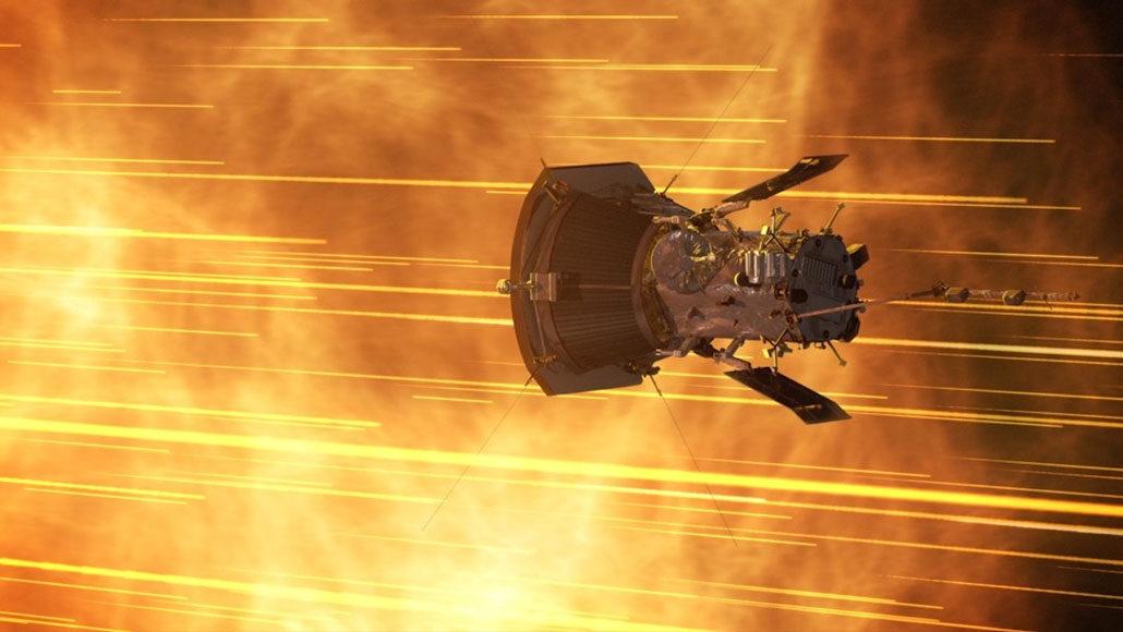 Parker Solar Probe illustration