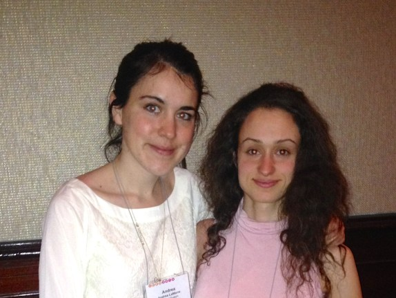Andrea & Tetyana at ICED2014