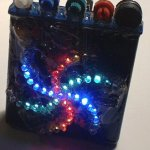 Spice up Your Home Party with Discrete LED Color Organ