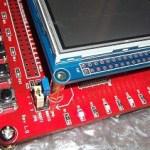 Interrupt based button read on STM32F103ZET6 board