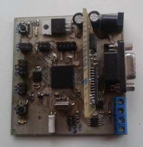 atmega128 development board
