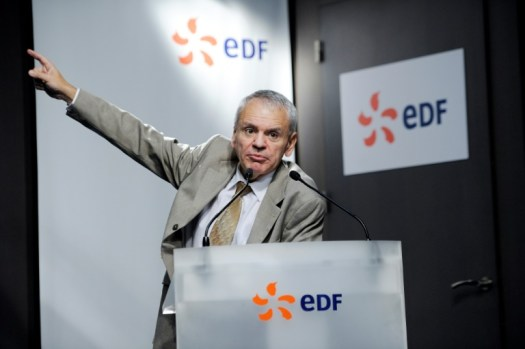 Dominique Minière, directeur du parc nucléaire et thermique d'EDF, ici le 5 décembre 2011 à Paris (AFP/Archives - ERIC FEFERBERG)