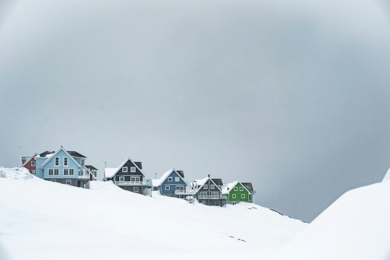Traditional houses in Nuuk, Greenland (Ritzau Scanpix / AFP / Archive - Emil Helms)