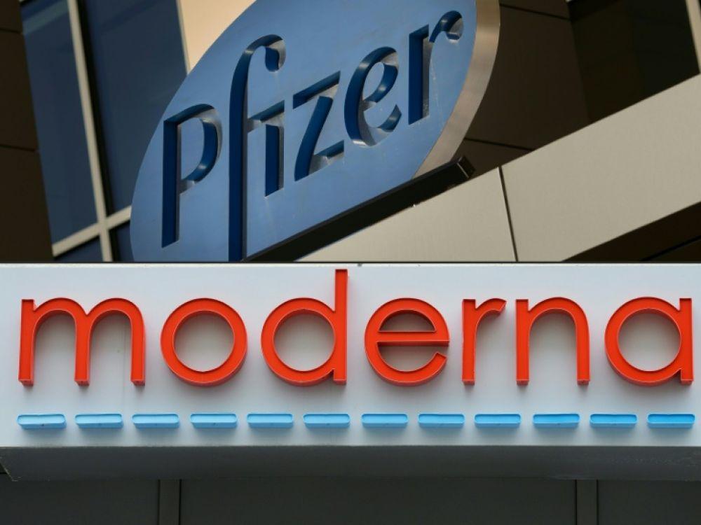 pfizer moderna deux vaccins d un