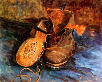 van gogh chaussures collection