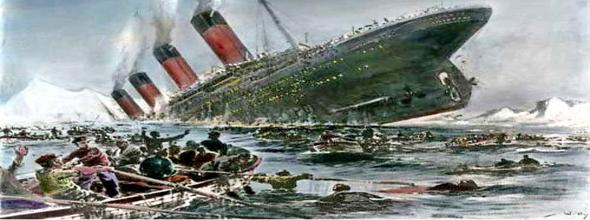 De ondergang van de Titanic