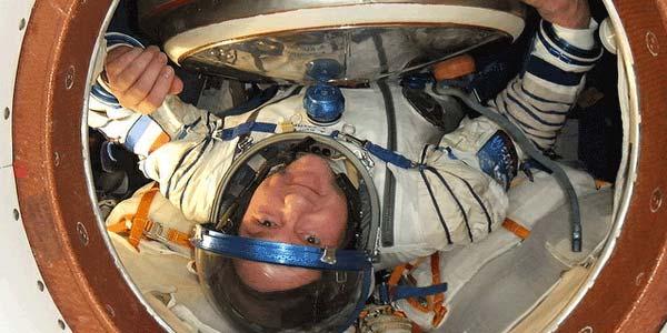André Kuipers. Foto: ESA / NASA.