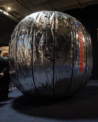 BEAM. Foto: NASA HQ photo (via Flickr.com).