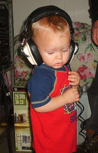 Ook kinderen vinden muziek vaak geweldig. Foto: Amber Davis (cc via Flickr.com).