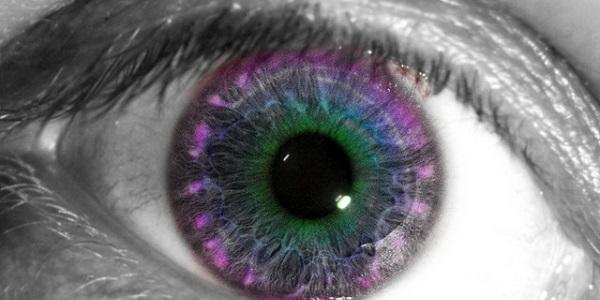 kleuren oog