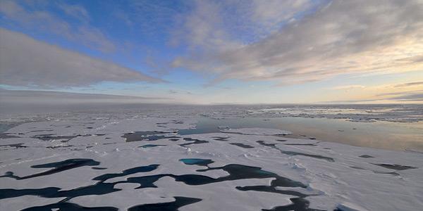 noordelijke ijszee