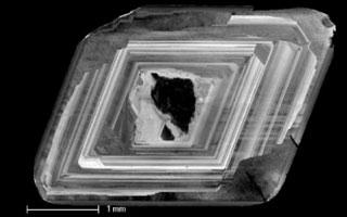 De ringen van een diamant. Afbeelding: VU Amsterdam.