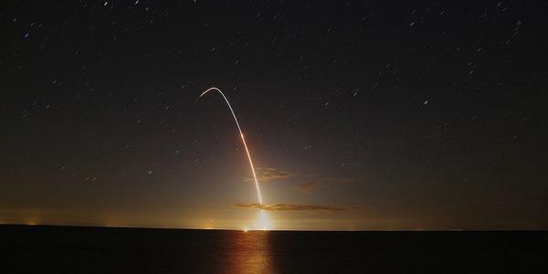 De lancering van LADEE leverde heel wat mooie plaatjes op. Bijvoorbeeld deze foto, gemaakt door Maunuksela4 (via Flickr.com).