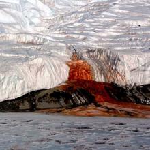 Dry Valley op Antarctica: één van de plekken die extreem op Mars lijkt. Afbeelding: ESA.