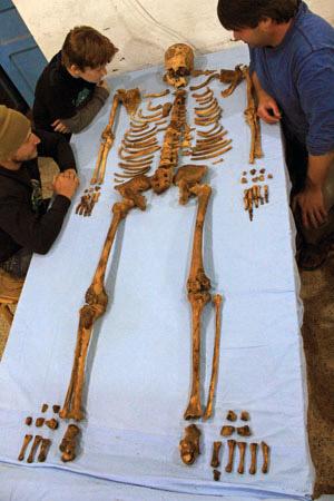 De resten van de farao. Afbeelding: Penn Museum.