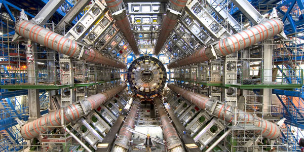 De Large Hadron Collider. Afbeelding: Maximilien Brice / CERN.