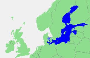 De Oostzee. Afbeelding: via Wikimedia Commons.