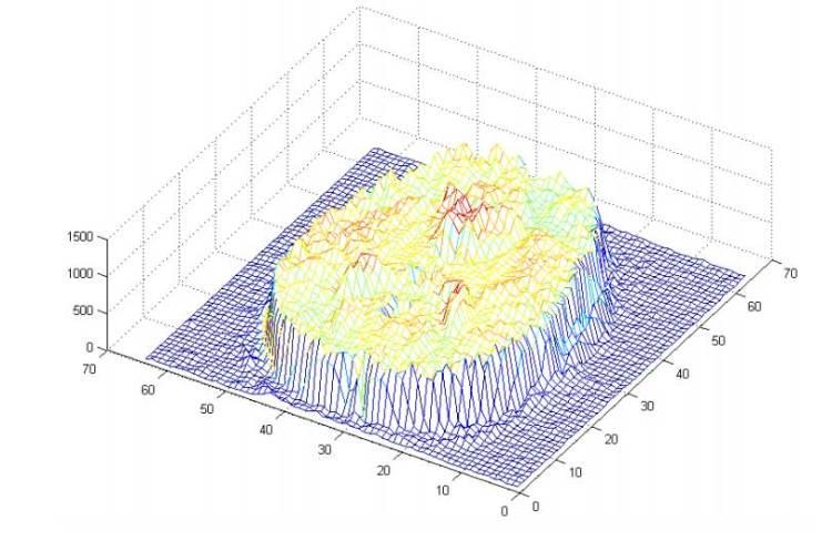 Deze 3D-grafiek laat zien welke processen er draaien.