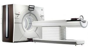 De Revolution CT-scanner.