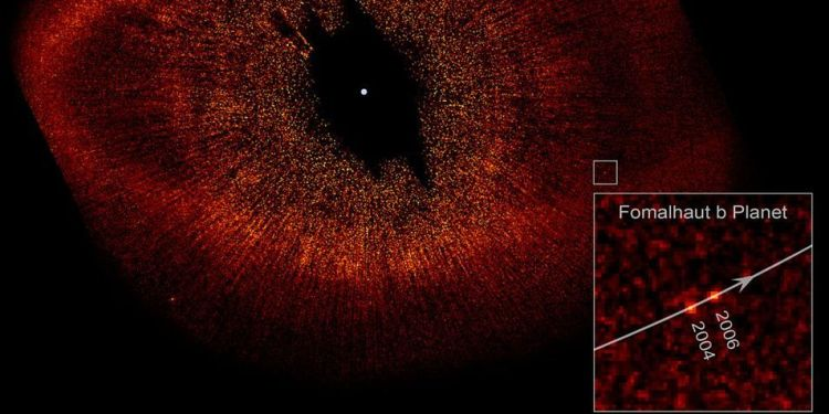 Afbeelding: NASA / ESA / P. Kalas (University of California, Berkeley, USA).