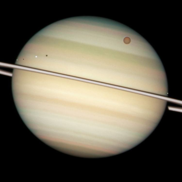Afbeelding: NASA / ESA / the Hubble Heritage Team (STScI / AURA) / M. Wong (STScI / UC Berkeley) / C. Go.