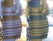 Voor één van de onderzoeken werden de strepen omgekeerd. Spontaan veranderen daarop de kleuren die mensen zien. Afbeelding: Current Biology.