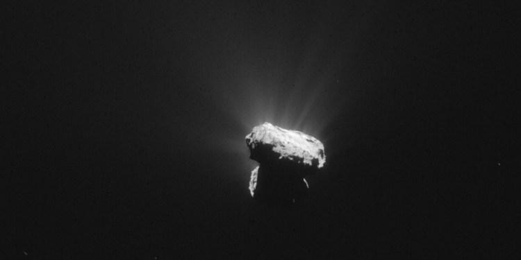 Foto: ESA / Rosetta / NAVCAM.