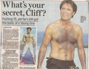Seventy is the new sixty? Dit geldt zeker voor Cliff Richard!