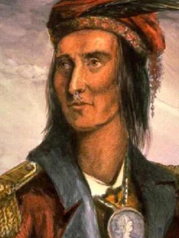 Tecumseh. Afbeelding: via Wikimedia Commons.