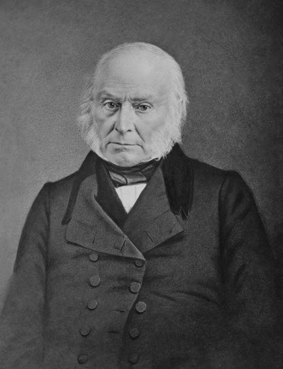 In 1824 werd John Quincy Adams door het Huis tot president gekozen.