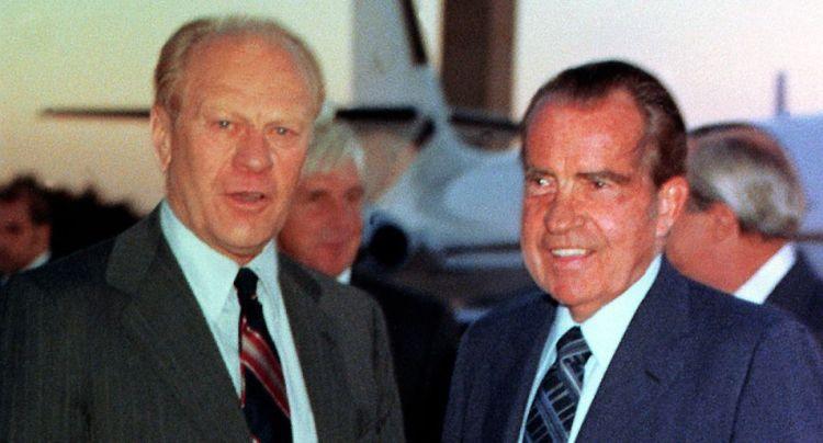 Nixon en Ford.