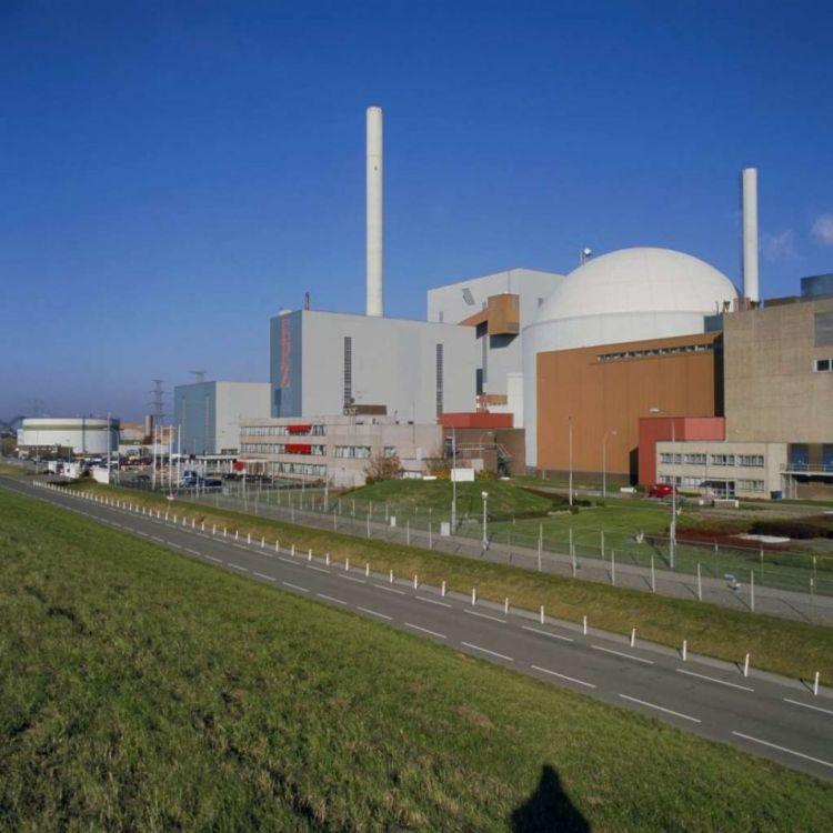De kerncentrale in Borssele. Naar verwachting zal deze nog tot 2033 open blijven. Afbeelding: Rijksdienst voor het Cultureel Erfgoed.