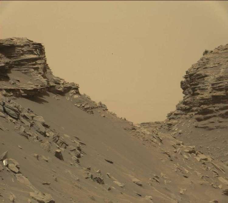 De buttes. Afbeelding: NASA / JPL-Caltech / MSSS.