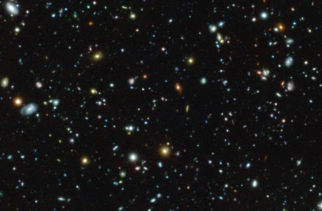 72 nieuwe sterrenstelsels ontdekt in het Hubble Ultra Deep Field