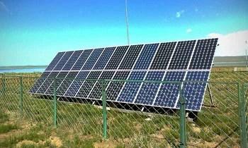 solar cell,Mongolia