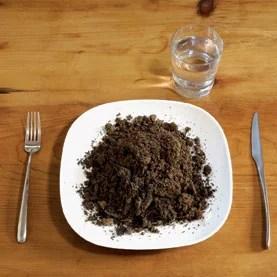 eating soil