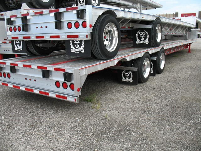 2016 WILSON 53′ COMBO DROP DECK W/ SLIDING REAR AXLE