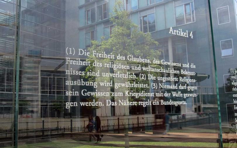 Grundgesetz der Bundesrepublik Deutschland Artikel 4