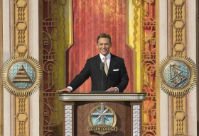 Marking the significance of this day, Mr. David Miscavige, Chairman of the Board Religious Technology Center and ecclesiastical leader of the Scientology religion, officiated at the ceremony.